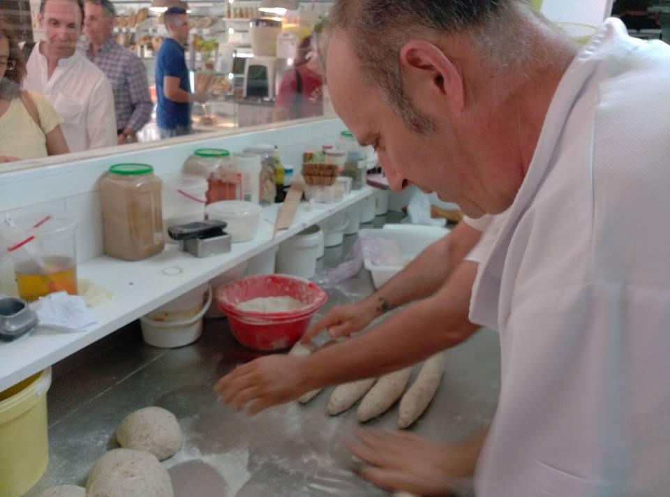 Presentación y degustación de panes