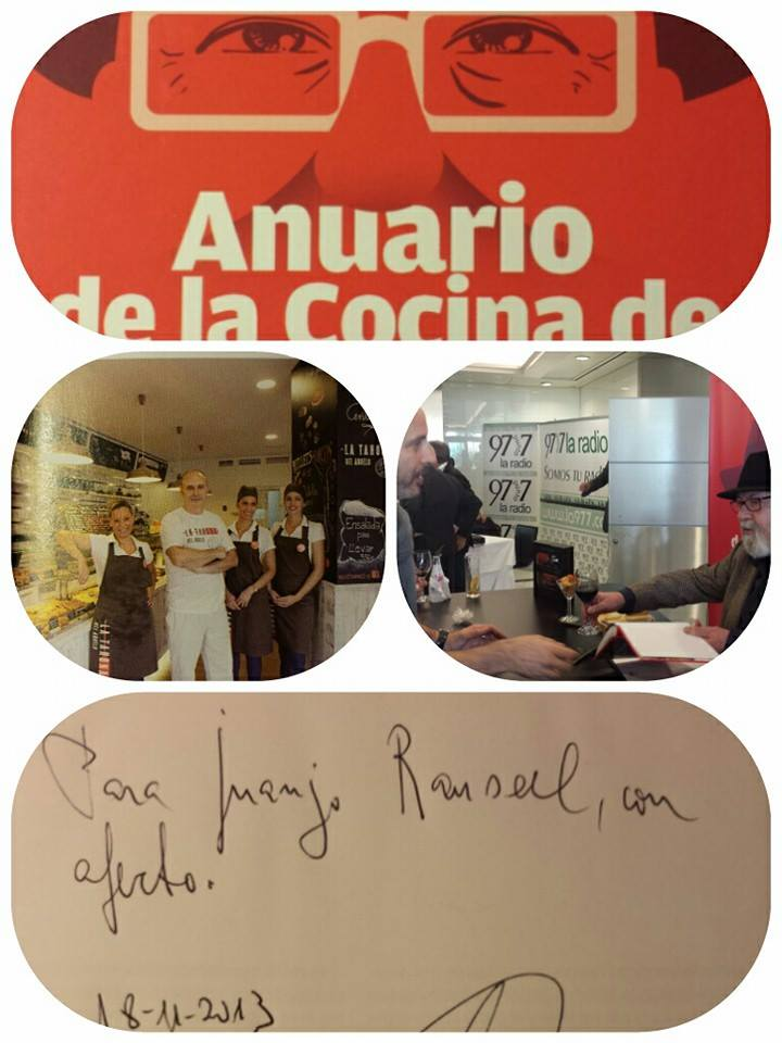 Anuario de cocina de Valencia.