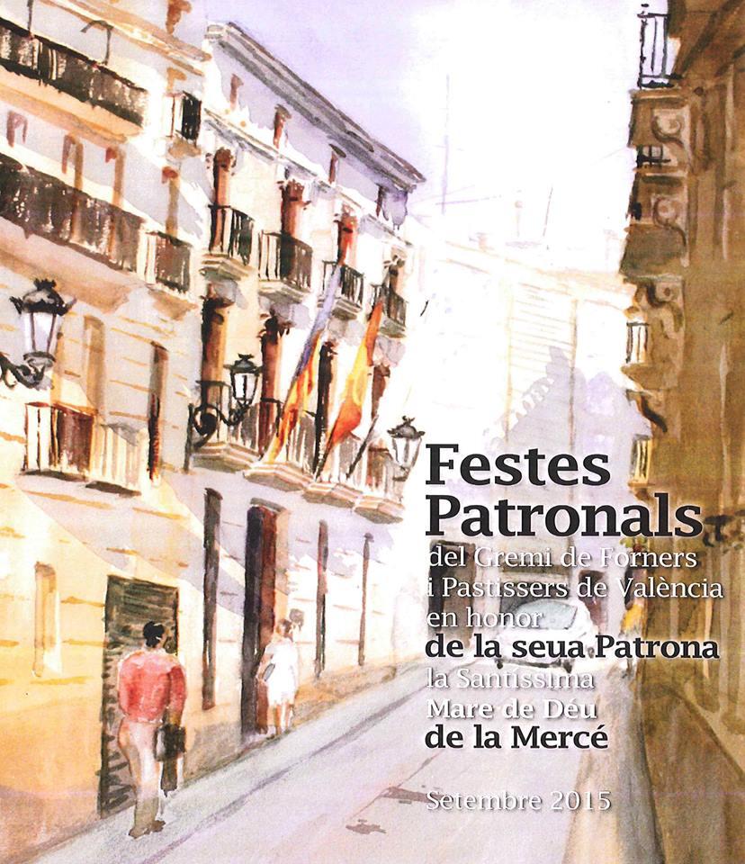 Premios fiestas del Gremio de panaderos y pasteleros de Valencia