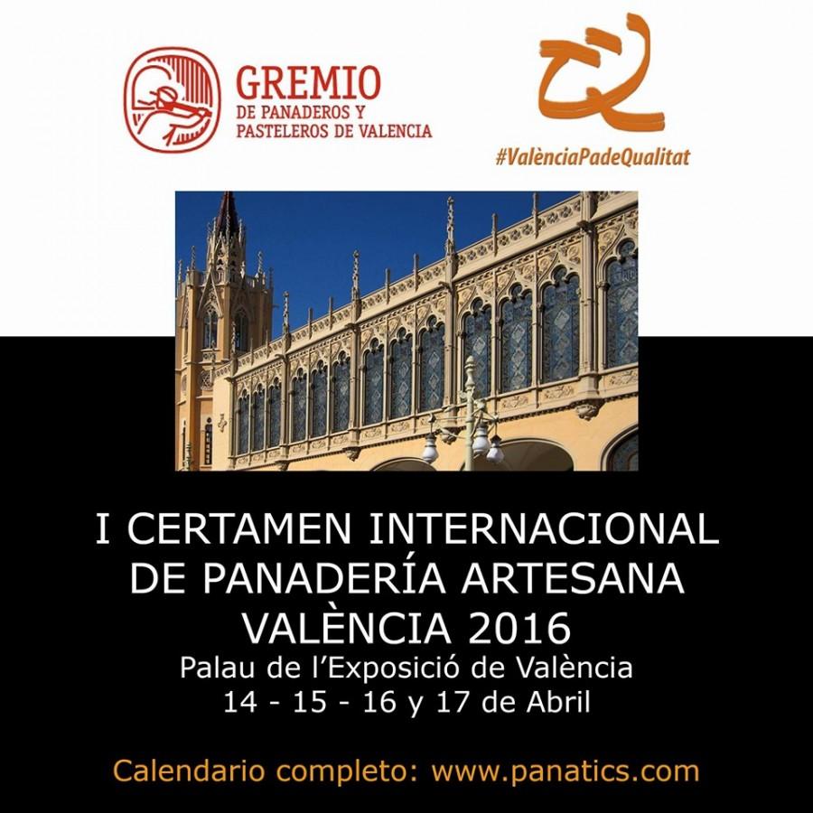I Certamen internacional de panadería artesano de Valencia