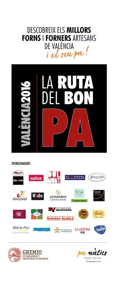 PRESENTACION DE LA RUTA DEL BON PAN Y PREMIO LLESCA D´OR AL MESTRE FORNER DE L´ANY VALENCIA 2016