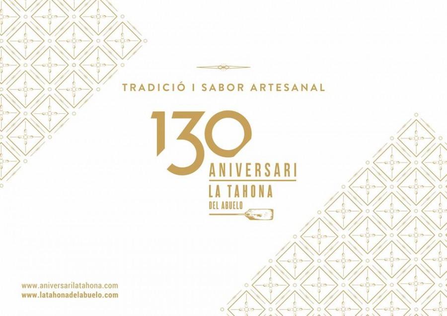 ANIVERSARI LA TAHONA 130 AÑOS CONTIGO PROMOCIONES Y EVENTOS