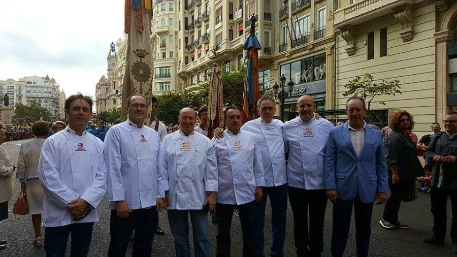 Celebración de Sant Donís y el 9 d'octubre por el Gremio de Panaderos y Pasteleros de Valencia