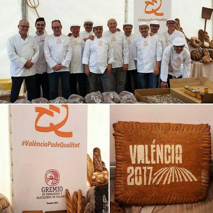 Celebramos el día mundial del pan en Valencia, 2017.